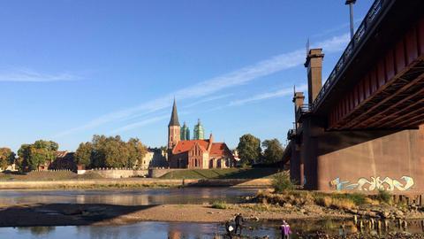 Die Memel in Kaunas.