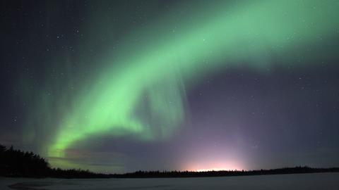 Über der nördlichen Ostsee erscheinen regelmäßig Polarlichter.