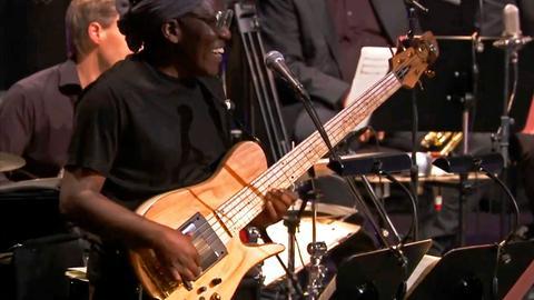 Richard Bona, Bass.