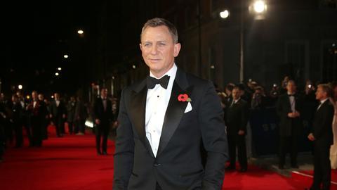 Daniel Craig auf dem roten Teppich.