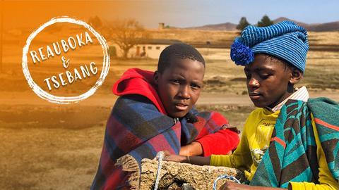 Der Hirtenjunge von Lesotho