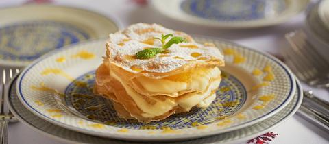 Orangen-Filo-Tarte