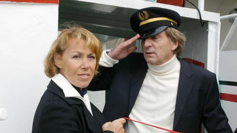 """Volle Kraft voraus: Das neue """"Kapitäns-Dream-Team"""" Astrid (Gaby Dohm) und Albert (Günther Maria Halmer) geht an den Start."""