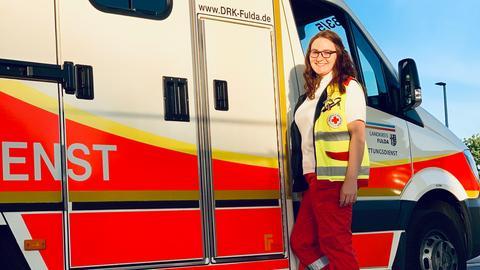 Laura Peter, Notfallsanitäterin, DRK Fulda
