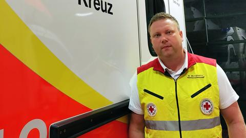 Rettungssanitäter Michael Michalowicz