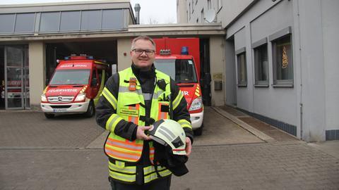 Sven Henrich, Brandoberinspektor, Berufsfeuerwehr Gießen