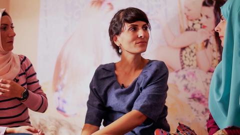 """""""7 Tage""""-Reporterin Yasemin im Gespräch Frauen aus einem konservativ geprägten Stadtteil Istanbuls"""