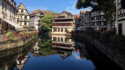 Das historische Gerberviertel in Straßburg.