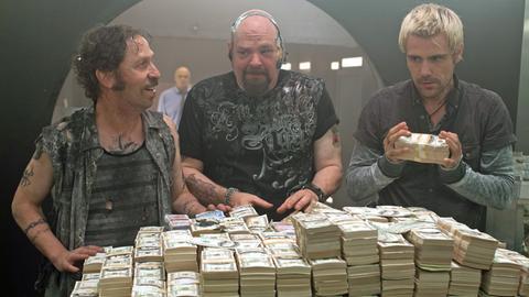 Von links nach rechts: Billy Ray (Tim Blake Nelson), Jelly (Pruitt Taylor Vince) und Gates (Matt Ryan)