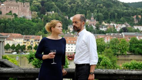 Ingolf (Christoph Maria Herbst) und Annette (Annette) müssen sich erst an den Auszug von Hermine gewöhnen.