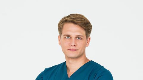 Portraitbild Mikko Rantala (gespielt von Luan Gummich)