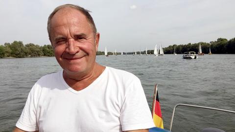 Holger Weinert unternimmt eine Fluss-Partie auf Main und Rhein.