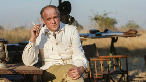 Die Weite Afrikas wird für Bernhard Grzimek (Ulrich Tukur) beinahe ein zweites Zuhause.