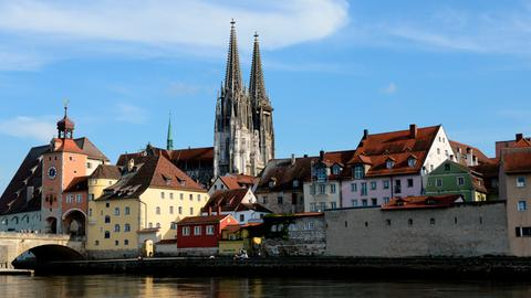 Regensburger Dom, Beginn der Kathedralgotik in Bayern.
