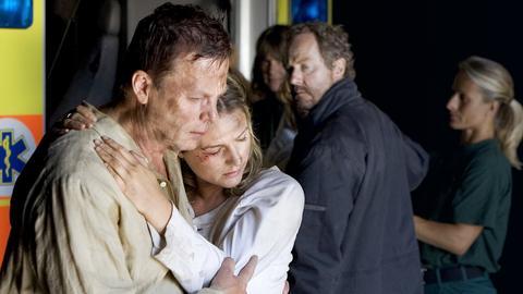 Die Polizistin Jolanta (Suzanna Dilber) gibt vor, die tot geglaubte Tochter des Killers zu sein.
