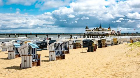 Der Strand von Usedom