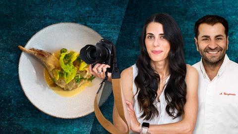 Profikoch Ali Güngörmüs und Foodbloggerin Graziella Lindner