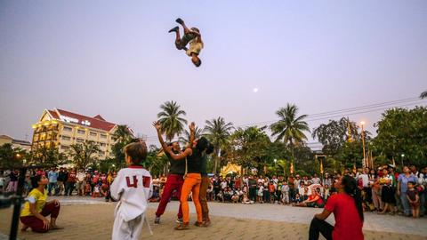 Die Zirkuskinder von Kambodscha