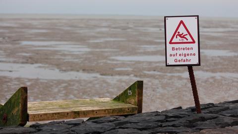 Gefährliches Wattenmeer