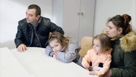 Familie vor Abschiebung nach Albanien