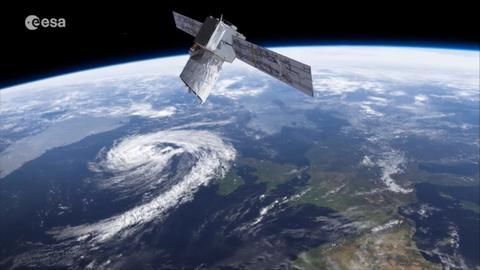 Aeolus-Satellit