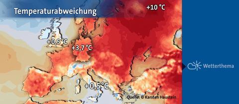 temperaturabweichung
