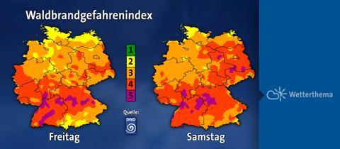 waldbrandgefahrenindex