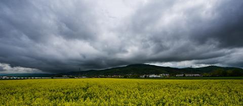 Wetter Regen Wolken Gewitter Sujet