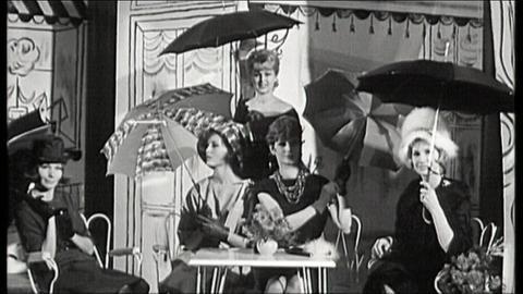 Historische Regenschirme