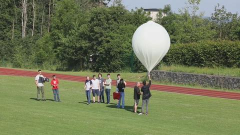 Schulprojekt Wetterballon