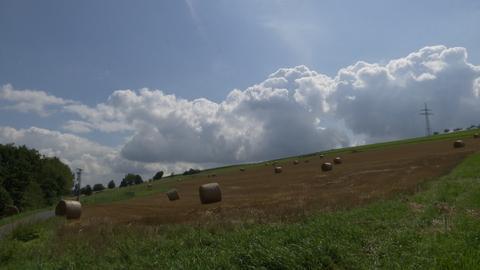 Wolkenformation bei Untergeis