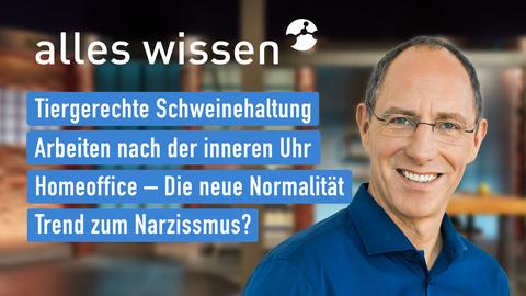 Themen sind u.a.: Tiergerechte Schweinehaltung, Arbeiten nach der inneren Uhr, Homeoffice – Die neue Normalität, Trend zum Nazissmus?