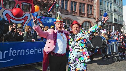 Der große Frankfurter Fastnachtszug 2018 – die schönsten Momente