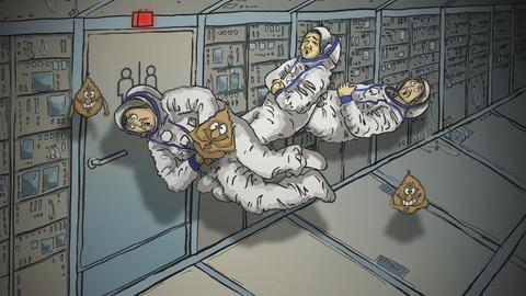 Viren befallen Astronauten