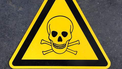 Gifte Giftig Totenkopf
