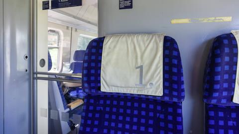 Hygiene in der Bahn