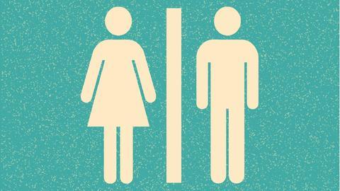 Toilettenlogos