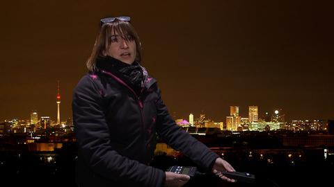 Sabine Frank kämpft gegen Lichtquellen in der Nacht