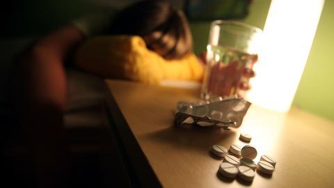 Schlaftabletten, Schlafmedikamente, Schlafprobleme, Schlafstörung