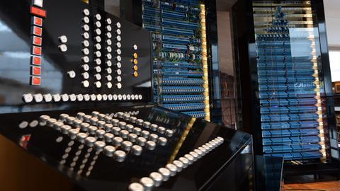 """Nachbau des ersten programmierbaren Computers """"Z3"""""""