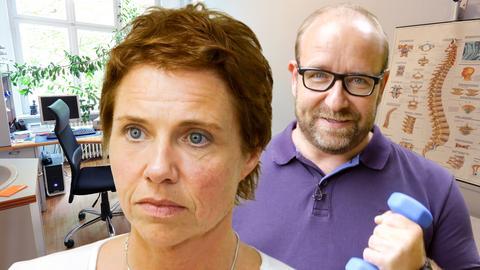 Oberarzt Mario Berwald und Petra aus Steinau