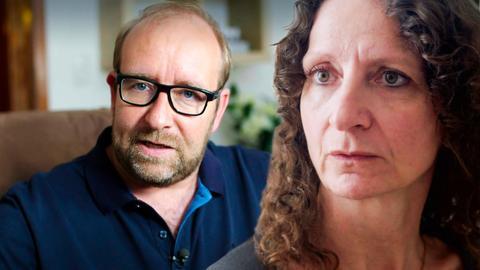 Oberarzt Mario Berwald und Iris aus Schlüchtern