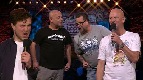 Das hr Comedy festival mit Mundstuhl, Phil Laude und Herr Schröder