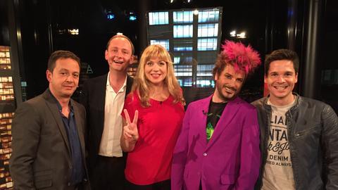 Comedy Tower 19: Roberto Cappelluti mit Christoph Reuter, Mirja Regensburg, Kay Ray und Alain Frei.