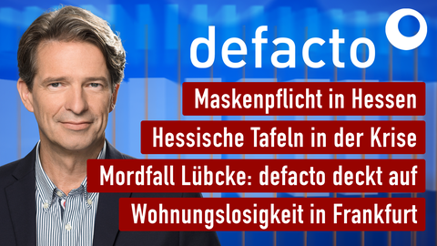 """Die Themen von """"defacto"""" vom 27. April"""