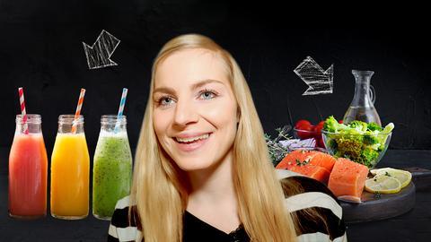 Reporterin Maike Tschorn testet verschiedenen Ernährungstrends.