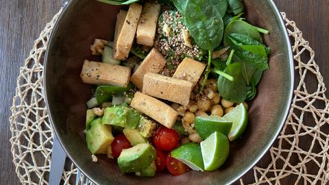Vegane Power Bowl