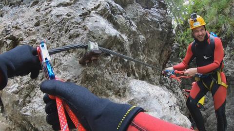 Canyoning im Kleinwalsertal
