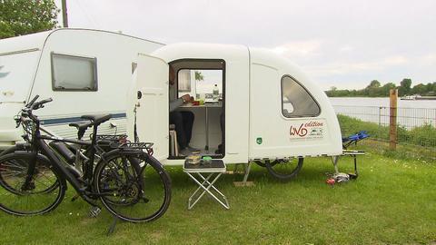 Camping-Caravan fürs E-Bike