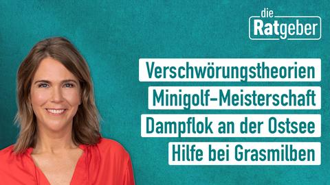 Anne Brüning präsentiert Die Ratgeber am 27.08.2019